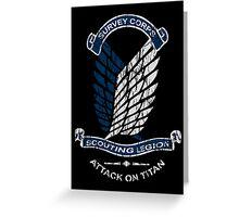 Emblem Grunge  Greeting Card