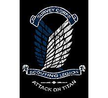 Emblem Grunge  Photographic Print