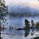 Sunrise in the Fog by DottieDees