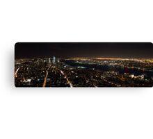 A City That Never Sleeps... Canvas Print