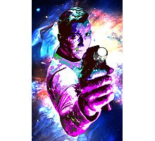 Color jump, James T Kirk Photographic Print