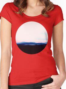Landscape, Scotland Women's Fitted Scoop T-Shirt