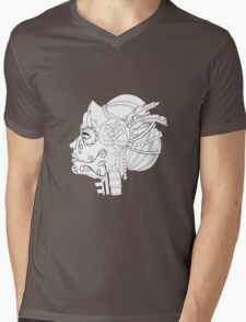 La Mujer Mens V-Neck T-Shirt