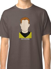Kirk is my Captain (Light Text) Classic T-Shirt
