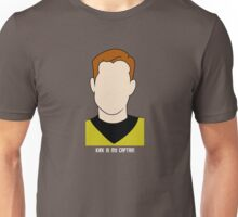 Kirk is my Captain (Light Text) Unisex T-Shirt