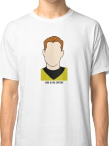 Kirk is my Captain (Dark Text) Classic T-Shirt