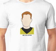 Kirk is my Captain (Dark Text) Unisex T-Shirt