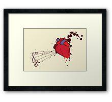 Of the Heart Framed Print