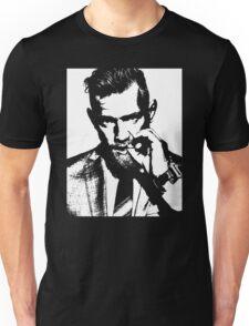 Conor McGregor Irish UFC Legend - B/W  Unisex T-Shirt