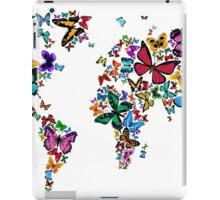 Butterflies Map of the World iPad Case/Skin