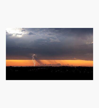 Kings Park Lightning Photographic Print