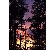 Early September Dusk II Photographic Print