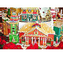 Gingerbread Village Study 1  Photographic Print