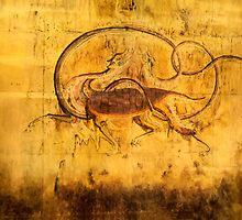 Old Korean Dynasty Painting by nhk999
