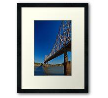 Mississippi Span Framed Print