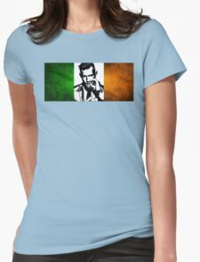 Conor McGregor Irish Flag Womens Fitted T-Shirt
