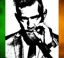 Conor McGregor Irish Flag Sticker