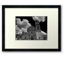 ©MS Tlalpujahua IA Monochromatic Framed Print