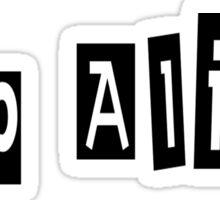 Hep Alien Sticker