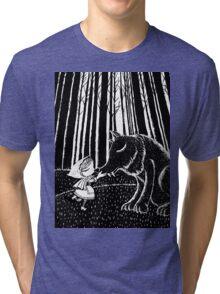Little Riding Hood Tri-blend T-Shirt