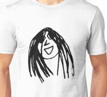 Happy Brunette Unisex T-Shirt
