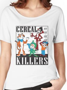 Cereal Killers Nerd Universitee T-Shirt Women's Relaxed Fit T-Shirt