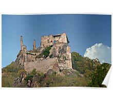 Kuenringer Castle Ruins Poster