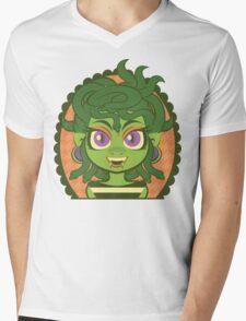 Medusa Girl Mens V-Neck T-Shirt