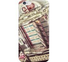 Vintage Diner Jukebox iPhone Case/Skin