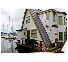 Houseboat - Victoria Poster