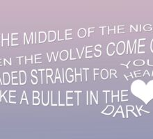 Wolves - One Direction Sticker