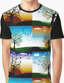 FOUR SEASONS Graphic T-Shirt