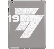 1977 iPad Case/Skin