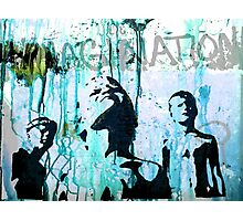 HEROES - imagination... Photographic Print