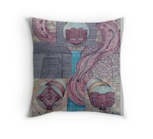 Fortune Of Castles Throw Pillow