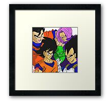 Rock the Dragon Framed Print