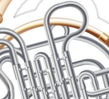 French Horn Sticker