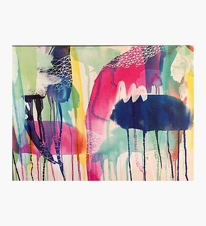 Crazy colour  Photographic Print