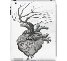 Dot Work Tree Heart iPad Case/Skin