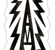 Galaxy News Radio Rock Gradient Sticker