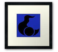 Tzeentch Symbol Framed Print