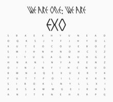 EXO Crossword Unsolved by InsaneAsylum