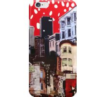 celestial bodies break to the city heat iPhone Case/Skin