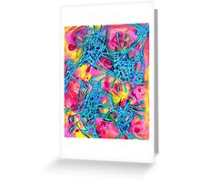 Magnetoid Greeting Card