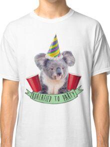 Koala-fied To Party Classic T-Shirt