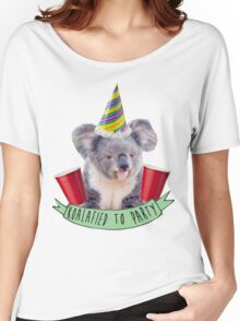 Koala-fied To Party Women's Relaxed Fit T-Shirt