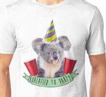 Koala-fied To Party Unisex T-Shirt