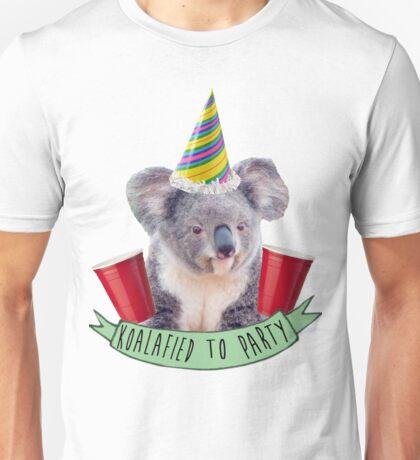 Koala-fied To Party Unisex T-Shirt