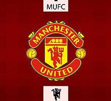 manchester united WHITE LINE by arisfebriyanto