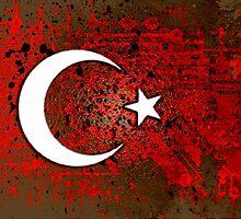 circuit board turkey (flag) by sebmcnulty